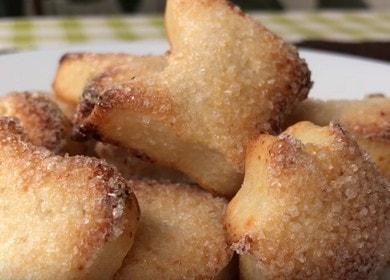 Готовим вкусное песочное печенье с творогом по рецепту с фото.