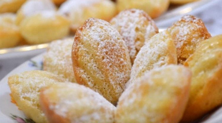 Классический рецепт печенья Мадлен, как видите. на самом деле очень простой.