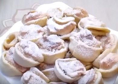 Печенье Ракушки — вкусная выпечка к чаю за 30 минут