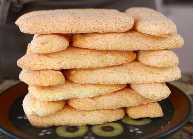 Бисквитное печенье Савоярди для десерта Тирамису