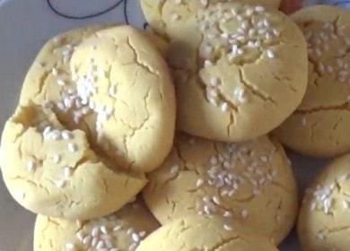 Печенье из кукурузной муки — вкусное и простое