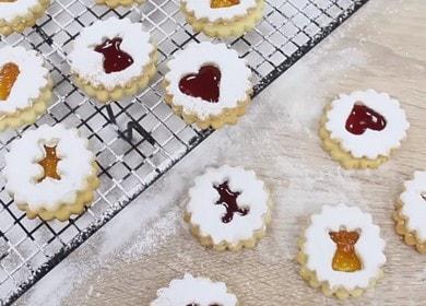 Рождественское печенье с джемом — праздничный рецепт