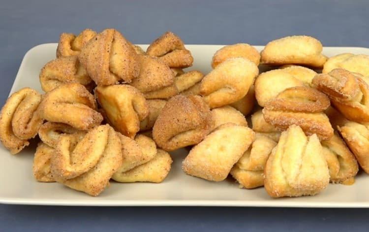 Печенье получается нежным и вкусным.