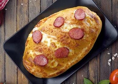 Пицца на батоне в духовке — такого вы еще не делали