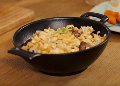 Оригинальный плов в духовке со свининой: готовим по рецепту с фото.
