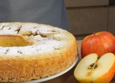 Самый простой яблочный пирог Шарлотка — классический рецепт