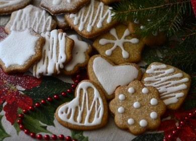Рождественское имбирное печенье с глазурью — вкусное и очень ароматное