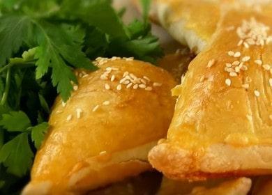 Самса с курицей — вкусная, хрустящая, сочная