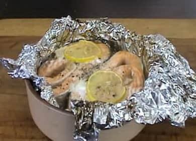 Стейки форели в духовке по пошаговому рецепту с фото