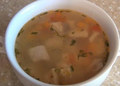 Готовим ароматный суп из красной рыбы по пошаговому рецепту с фото.