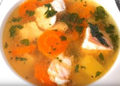 Суп из рыбы — очень вкусный рецепт