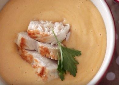 Нежный сырный суп с курицей: рецепт с фото и видео.