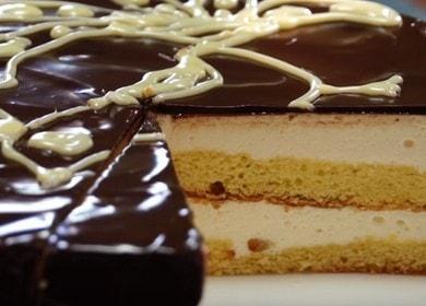 исключительно вкусный торт Птичье молоко от бабушки Эммы: готовим по рецепту с пошаговыми фото.