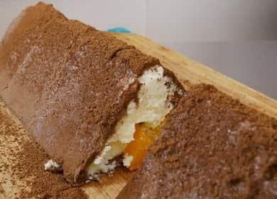 Торт без выпечки из печенья и творога — легкий торт из детства