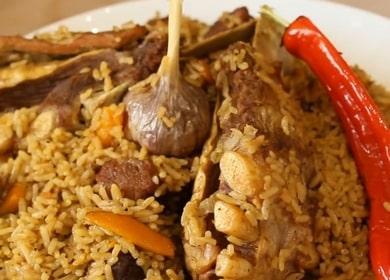 Готовим узбекский плов из говядины по рецепту с фото.