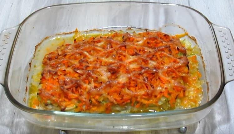 Филе трески в духовке по этому рецепту запекается всего минут 20.
