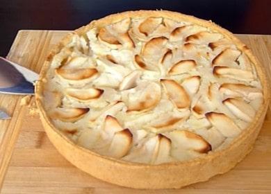 Цветаевский яблочный пирог — нежный и обалденно вкусный