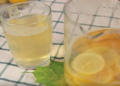 Правильно готовим чай с имбирем и лимоном: рецепт с пошаговыми фото.