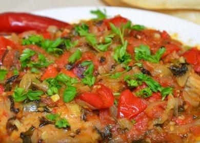 Готовим чахохбили из курицы по-грузински: пошаговый рецепт с фото.