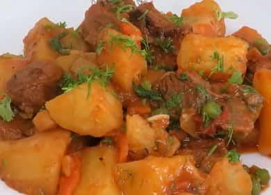 Отличное жаркое из говядины с картошкой — вкусно, сытно и просто