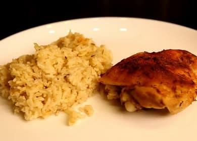 Рис с курицей в духовке — быстрое приготовление и вкусный результат