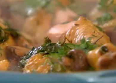 Фрикасе из курицы с картошкой — рецепт от Гордона Рамзи
