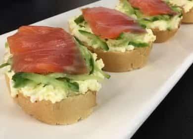 Вкусные бутерброды с красной рыбой — лучший вариант закуски