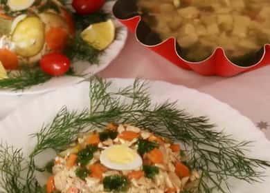 Вкусное заливное из курицы на праздничный стол