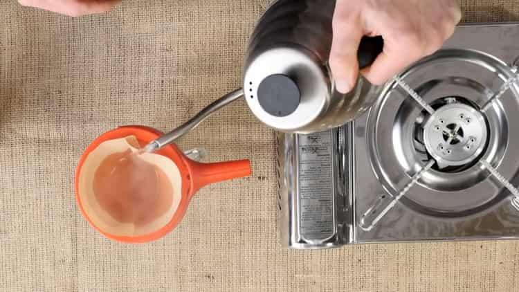 Перед тем как варить кофе подготовьте ингредиенты