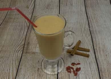 Смузи с бананом и кефиром по пошаговому рецепту с фото