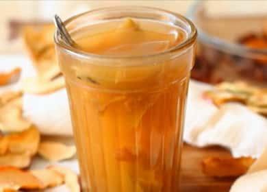 Компот из сушеных яблок по пошаговому рецепту с фото
