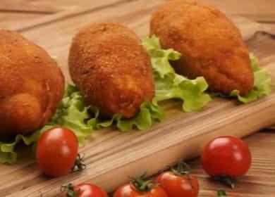 Котлеты по-киевски — легкий рецепт невероятно вкусного блюда