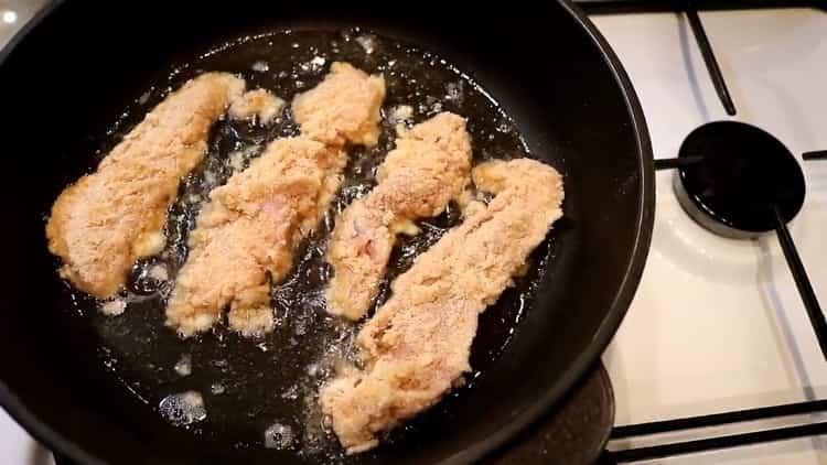 По рецепту для приготовления молок из лососевых рыб. разогрейте масло