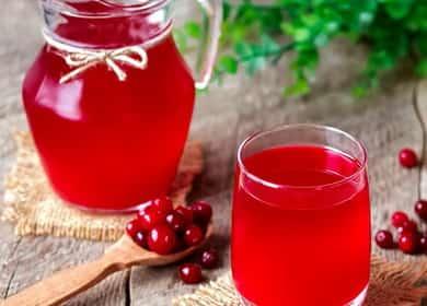 Клюквенный морс — рецепт очень полезного и вкусного напитка