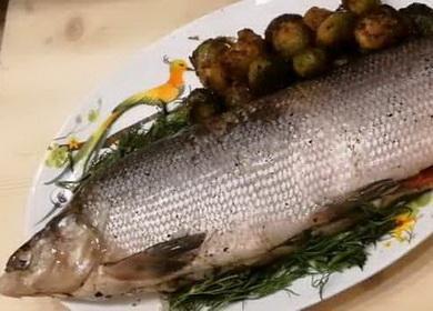 Запеченая рыба муксун — простой и вкусный рецепт