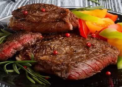 Антрекот из говядины — что может быть проще и вкуснее