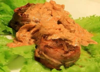 Медальоны из говядины — рецепт приготовления нежного мяса