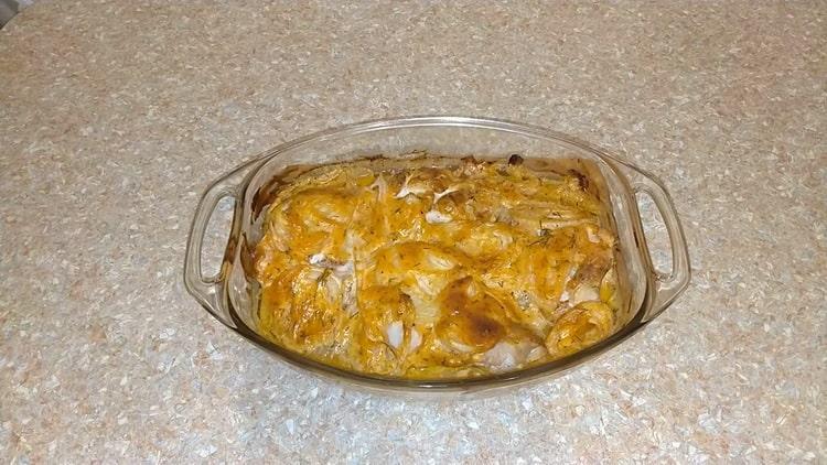 Красный морской окунь в духовке: пошаговый рецепт с фото