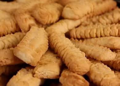 Песочное печенье через мясорубку - самое нежное и рассыпчатое лакомство
