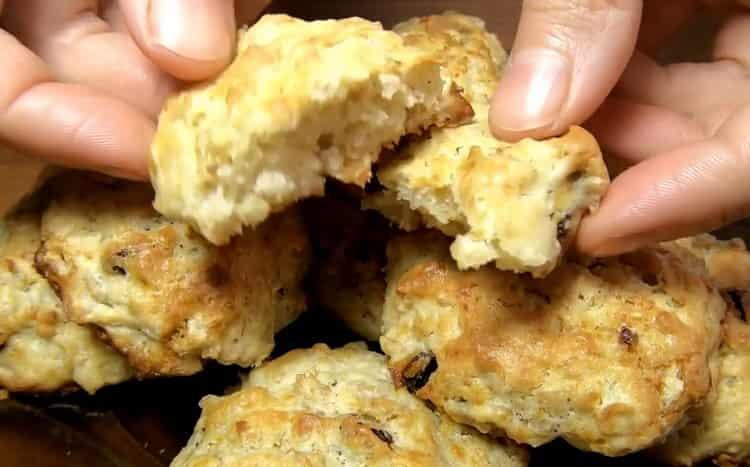 Печенье из овсяной каши по пошаговому рецепту с фото