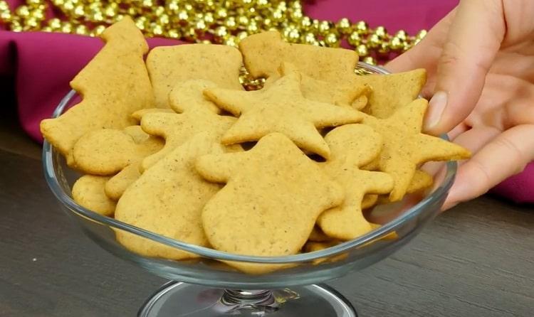 """Вкусное имбирное печенье с корицей - станет вашим """"фирменным"""" десертом"""