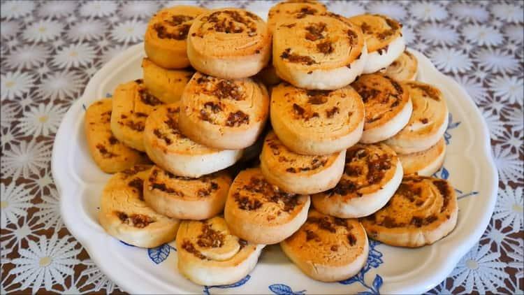 Печенье на желтках по пошаговому рецепту с фото