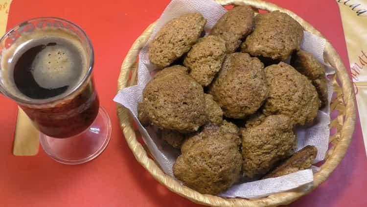 Быстрое кофейное печенье на маргарине - рецепт на скорую руку