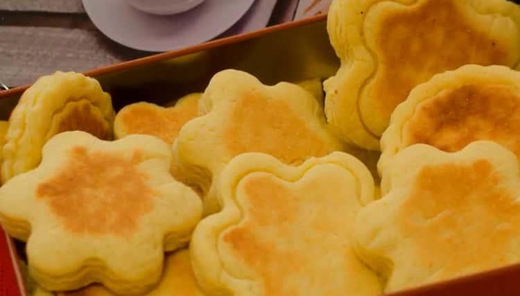 Вкусное печенье на сковороде - рецепт без выпечки