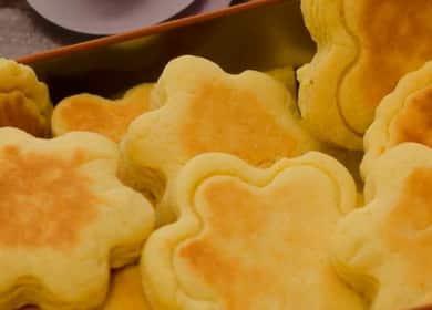 Вкусное печенье на сковороде — рецепт без выпечки