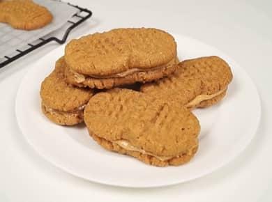 Простое и вкусное арахисовое печенье — всего 5 ингредиентов