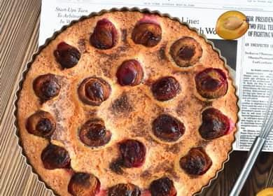 Пирог со сливами — знаменитый американский рецепт