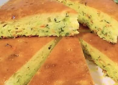 Заливной капустный пирог — лёгкий, воздушный и действительно вкусный