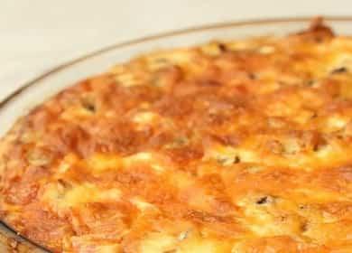 Лоранский пирог с курицей и грибами — невероятная вкуснятина