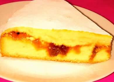 Пирог с вареньем на скорую руку по пошаговому рецепту с фото